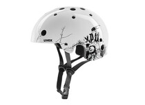 Uvex XP 11 bug white-black shiny